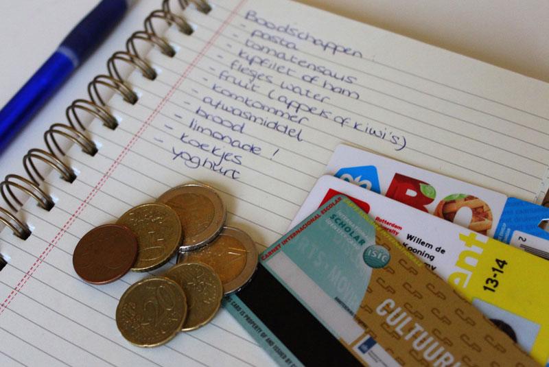 Studenten en geld besparen